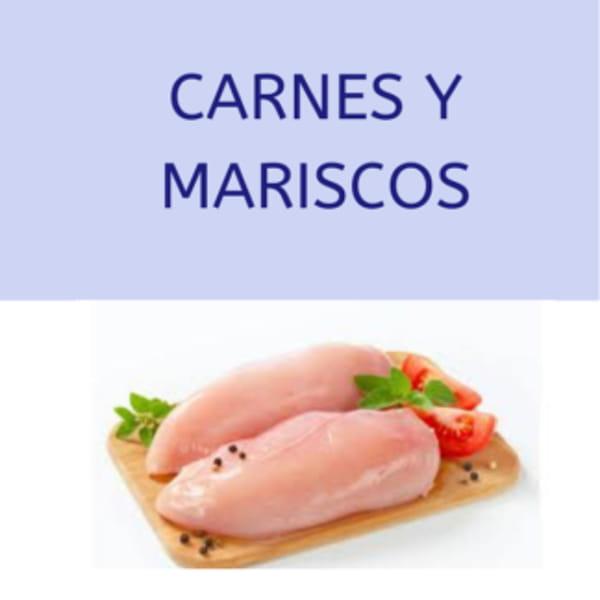Carnes y mariscos