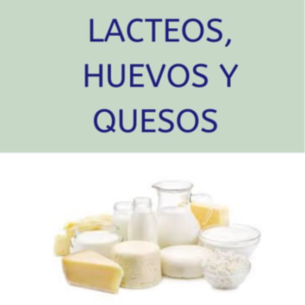 Lácteos, huevos y quesos
