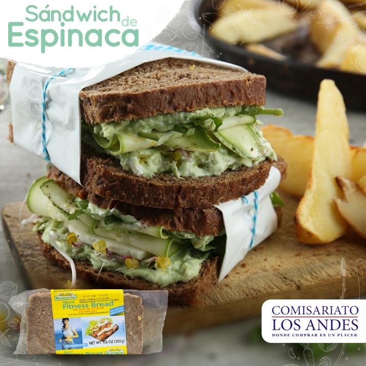 Sándwich de espinaca