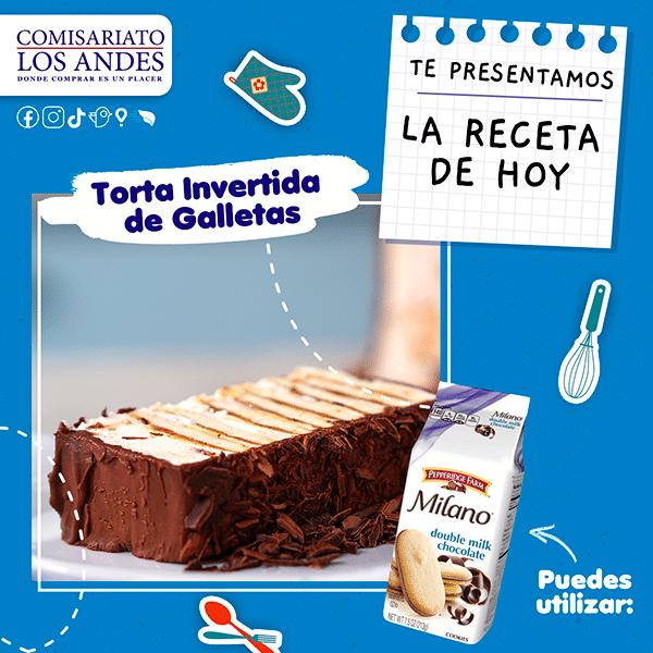 Torta Invertida de Galletas