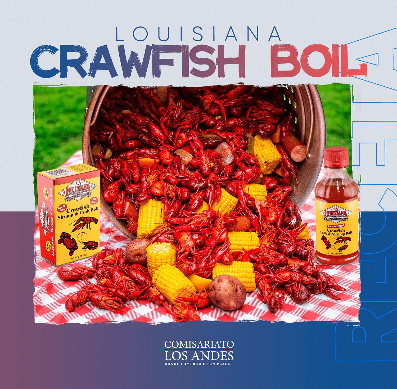 Lousiana Crawfish Boil