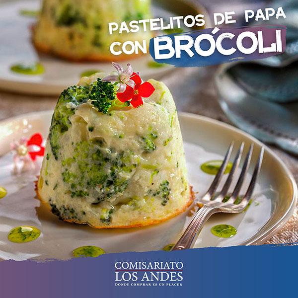 Papa con brócoli