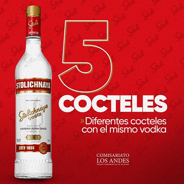 5 cocteles