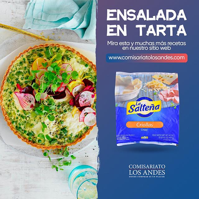 Ensalada en Tarta